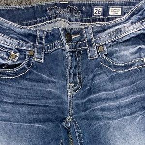 "Miss Me skinny jeans 26""×31"""